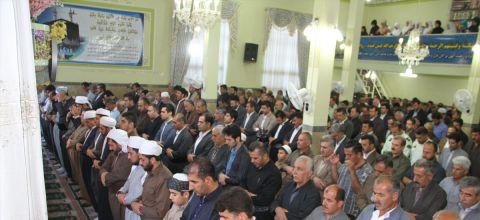 نماز عید سعید فطر با حضور باشکوه مردم پاوه برگزار شد / گزارش تصویری