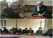 امام جمعه پاوه در منزل جوان شاینگانی که اخیر در یک نزاع به قتل رسید، حضور یافت