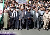 حضور پرشور مرزداران پاوه ای در راهپیمایی روز جهانی قدس / گزارش تصویری