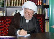 ماموستا قادری حماسه حضور مردم در انتخابات را به رهبر معظم انقلاب تبريك گفت