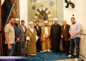 ماموستا قادری برای ادای فریضه نماز جمعه، در مسجد البرازیل سائوپائولو حضور یافتند