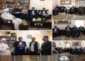 جمعی از منتخبین شورای اسلامی شهر کرمانشاه با ماموستا قادری دیدار کردند