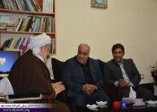 مهندس بازوند، استاندار کرمانشاه با ماموستا قادری دیدار کردند / گزارش تصویری