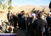 حضور ماموستا قادری در مناطق زلزله زده ثلاث و سرپلذهاب / گزارش تصویری