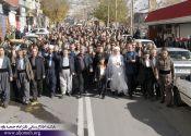 مردم مومن پاوه به رسمیت شناختن بیتالمقدس به عنوان پایتخت رژیم صهیونیستی را محکوم کردند / گزارش تصویری